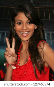 """WESTWOOD - JULY 17: Victoria Justice at the premiere of """"Monster House"""" at Mann Village Theater July 17, 2006 in Westwood, CA."""