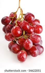 Wet grapes