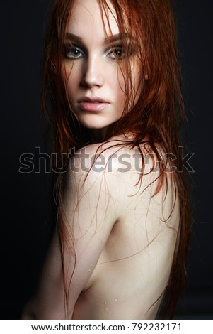 Red haired nude ladies absolutely