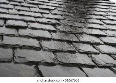Wet Roof Tiles