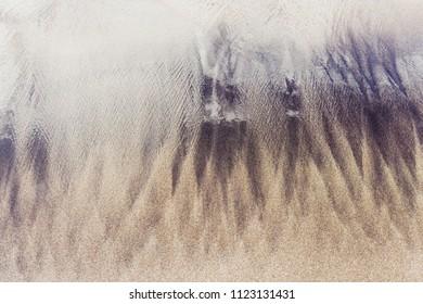 Wet sand background