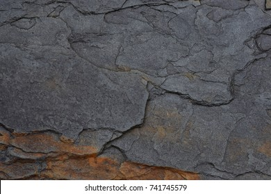 Wet Shale Texture Background