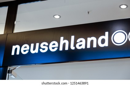 WETZLAR, GERMANY, 29 August, 2017: Fielmann store. NEUSEHLAND is the largest optical chain in Europe.