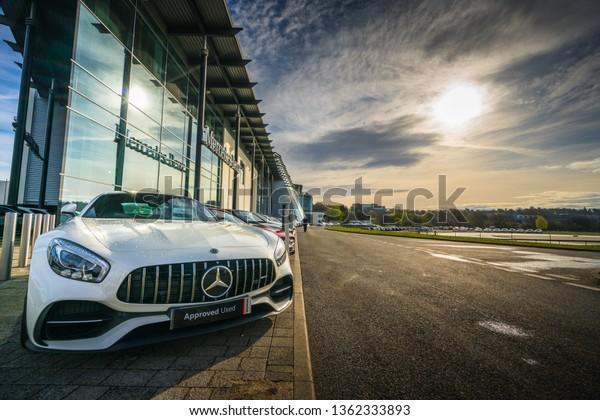 Weybridgeukapril 4 2019 Mercedes Benz Amg Stock Photo Edit