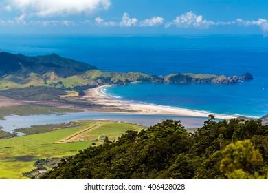Whangapou beach, Great Barrier Island, New Zealand