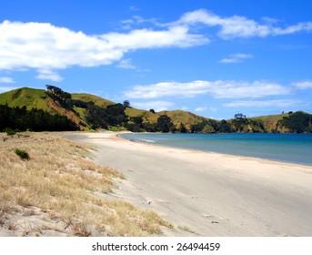 Whangapoua Beach, Great Barrier Island, New Zealand