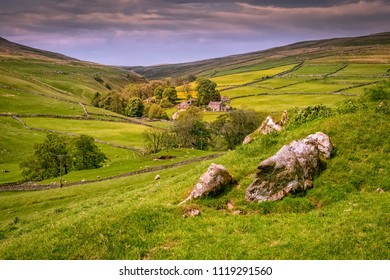 Wharfedale is in  the Yorkshire Dales. It is situated within the boroughs of Craven, and Harrogate in North Yorkshire