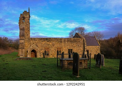Wharram Percy, Ruined Church and Deserted Medieval Village, East Yorkshire UK