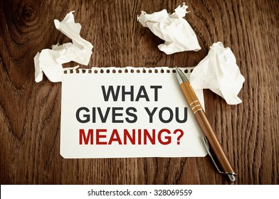 Meaning of Life Images, Stock Photos & Vectors   Shutterstock