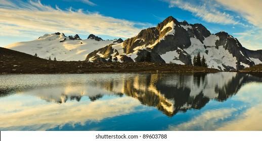 Whatcom Peak from Tapto Lakes