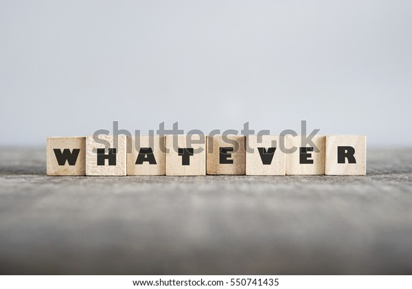 WHATEVER word made with building blocks