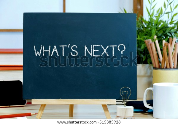 Whats Business Concept What Will Happen Stock Photo (Edit