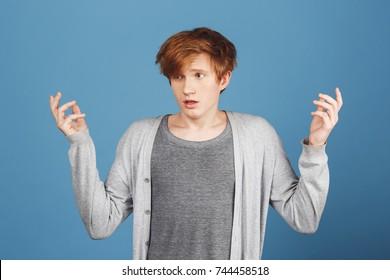 redhead ass spread
