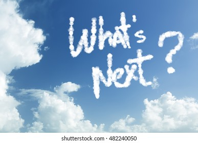 What's next written in the sky