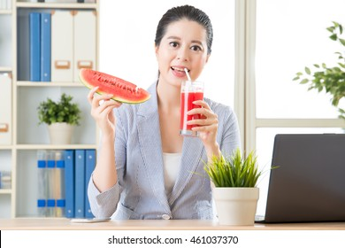 whe you drinking watermelon juice will be really enjoyment in summer
