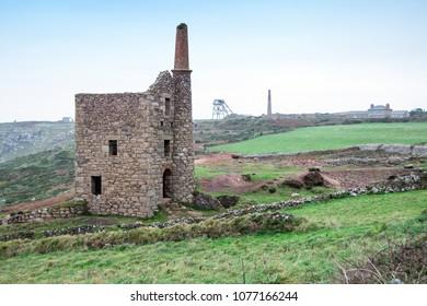 Wheals Owles aka Poldark's Mine, Cornwall UK
