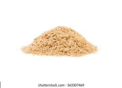 Wheat germ, the highly nutritious heart of the wheat kernel. isolated