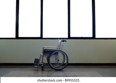 wheel chair in hospital
