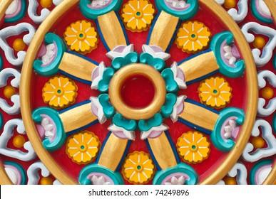 Wheel of dharma