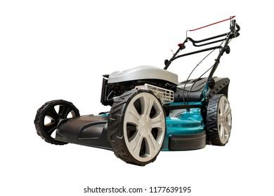 Wheel Drive 4-stroke Petrol Blue Lawn Mower