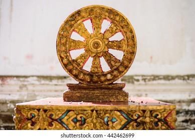 Wheel of life ,Dharmachakra ; Wheel of Dhamma