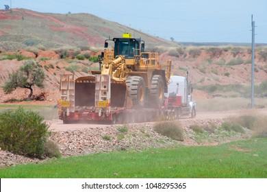 Wheel Loader Oversize Transportation