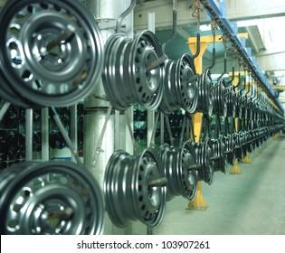 wheel production