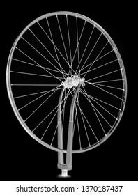 Wheel spinning, single sole black