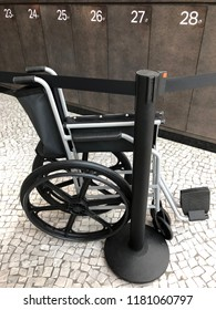 Wheelchair black handicap