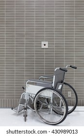 Wheelchair for disabled people.