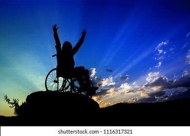 wheelchair girl's success