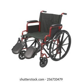 wheelchair Isolated on white