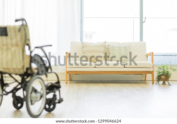 Wheelchair of nursing home