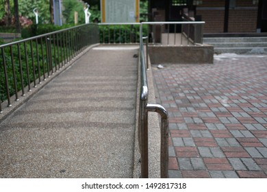 Wheelchair Ramp in the park.