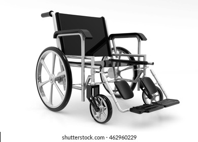 Wheelchair.3d render