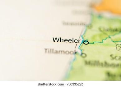 Wheeler Oregon Map.Wheeler Map Images Stock Photos Vectors Shutterstock