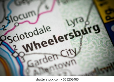 Wheelersburg. Ohio. USA