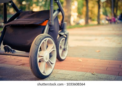 Wheels on a pram