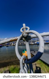 when anchors are no longer used on ships they are often displayed for decorative purposes