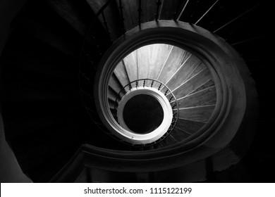 When Going Up, Always Look Down