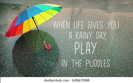 Rainy Quotes Images, Stock Photos & Vectors | Shutterstock