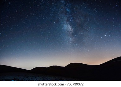 when mountains merge the stars... highest point in the near East 3,089 meters