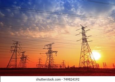When the sunset pylon