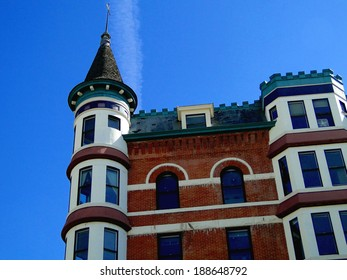 When this grand hotel was constructed in 1901 in French Chateau style architecture it became an instant landmark in Boise, Idaho. It is rumored to be haunted.