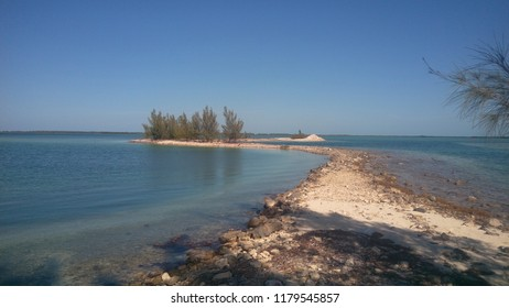 Where the land meets the sea in Bimini, Bahamas