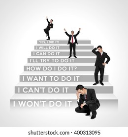 Which steps are you now? - The stages of business people development