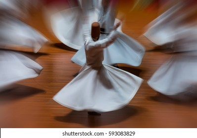 Whirling Dervish sufi religious dance