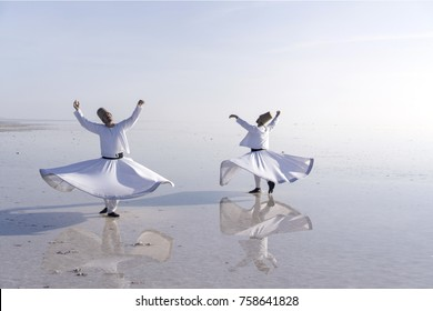 Whirling dervish,Salt Lake