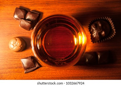 Whiskey and chocolate