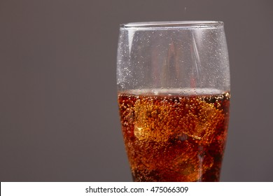 whiskey with cola with ice